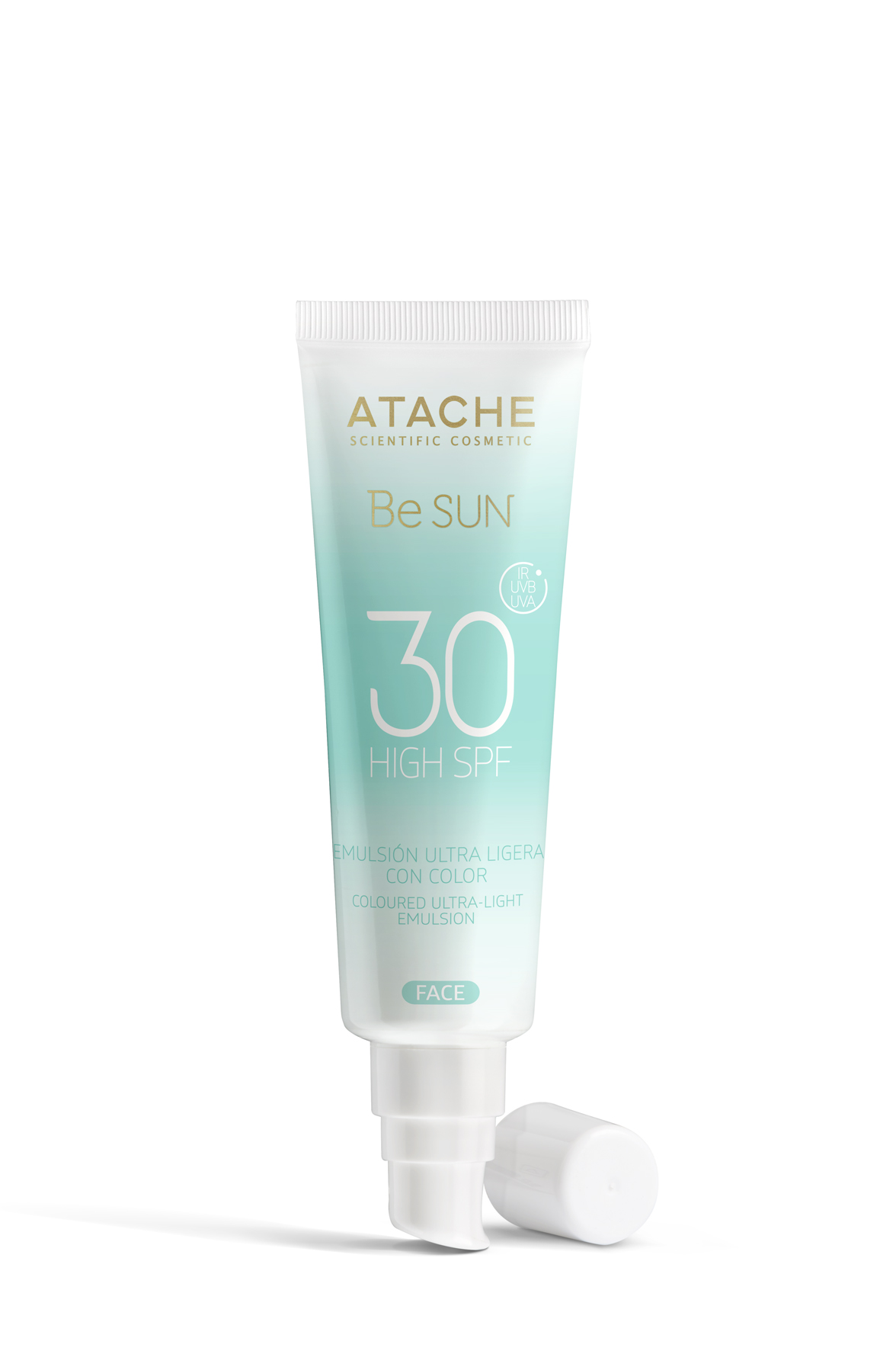 Atache SPF 30 Colored Ultra-Light Emulsion - AKCE slevva 20 %